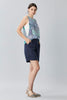 TENCEL LONG LINE SHORTS