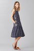 IKAT BUTTONWORK DRESS