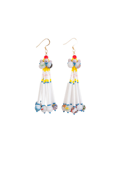 CANDY GLASS EARRINGS-MIDI