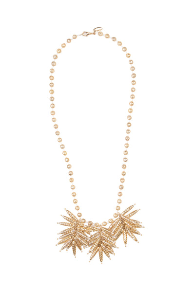 FAWZIA CLUSTER NECKLACE - SHORT