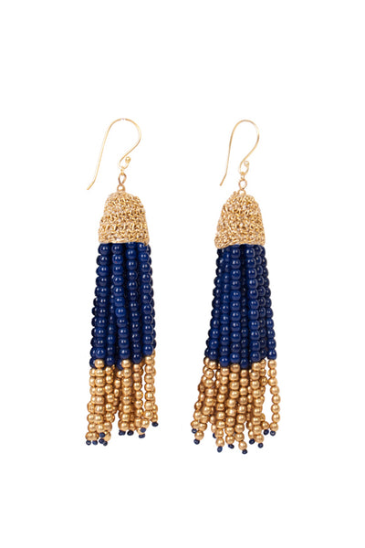 ROYAL TASSEL EARRINGS
