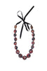GEO SILK NECKLACE - LARGE