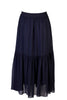 DRAWSTRING GEORGETTE SKIRT