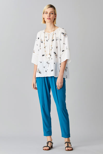 OLEANA COTTON BLOUSE