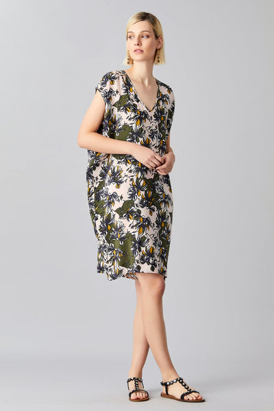 MAGNOLIA SILK DRESS