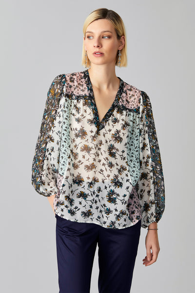 MAI PATCHED BLOUSE