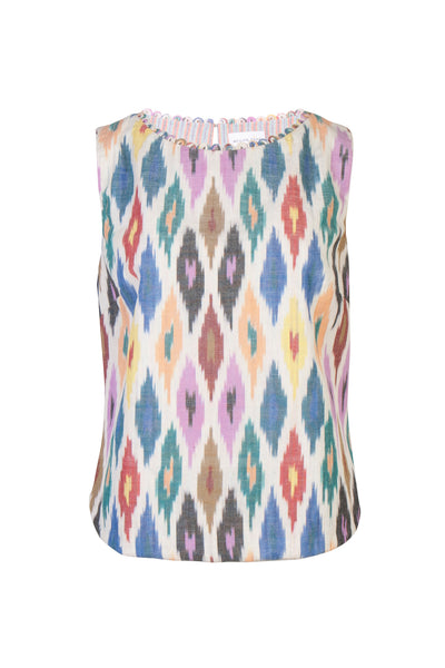 IKAT SHELL TOP