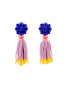 TASSEL ST BEAD EARRINGS
