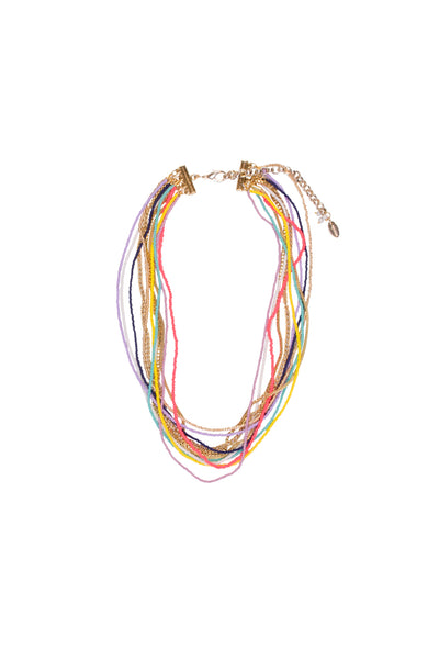 ROCAILLE CHAIN NECKLACE