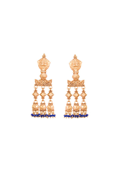 LAPIS PALI EARRINGS