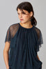 RILEY TULLE TOP