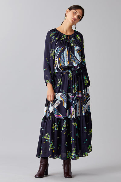 PATCH FLORA DRESS