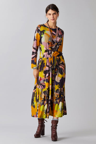 BLOOM WOOL JERSEY DRESS