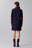 FARA WOOL LUREX DRESS