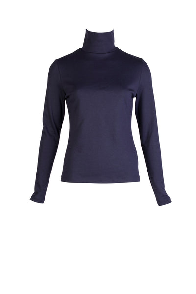 TURTLE NECK JERSEY TOP