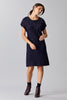CRYSTAL WOOL DRESS