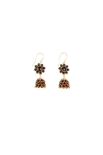 KALI FLORA DROP EARRINGS