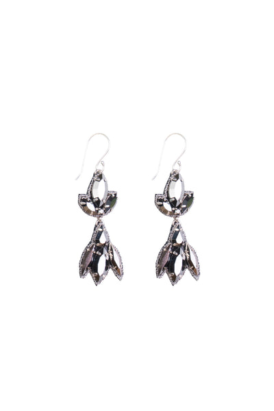 ANTHRACITE EARRING SML