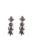 ANTHRACITE EARRING LG
