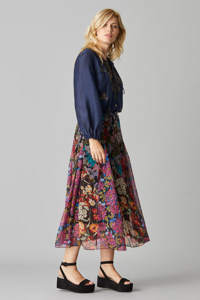 RANIA PATCH SKIRT