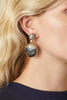 DUO STONE EARRINGS-LARGE