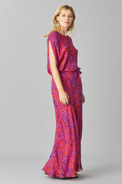 FIESTA GEORGETTE MAXI DRESS