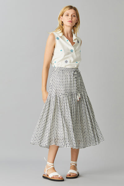 OLARIA COTTON SKIRT