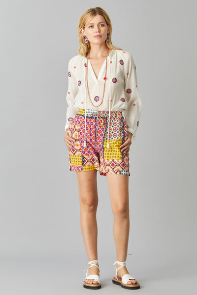 CASCAIS SILK SHORTS