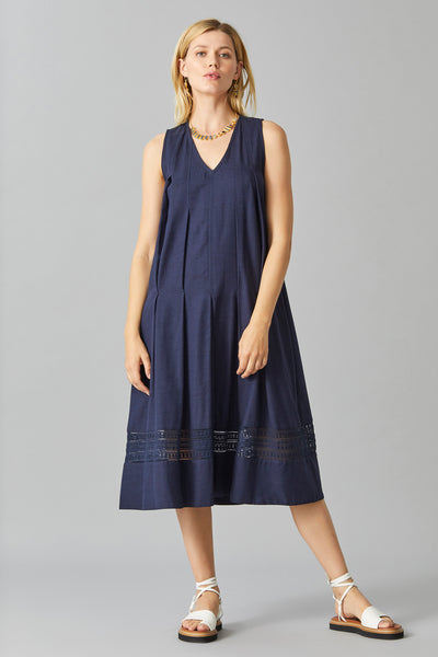FLYNN PLEATED DRESS