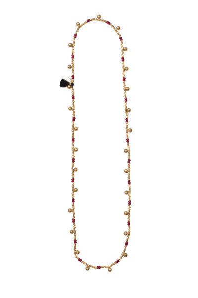 PARAVI BRASS NECKLACE
