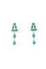 CLOTILDE TURQUOISE EARRINGS