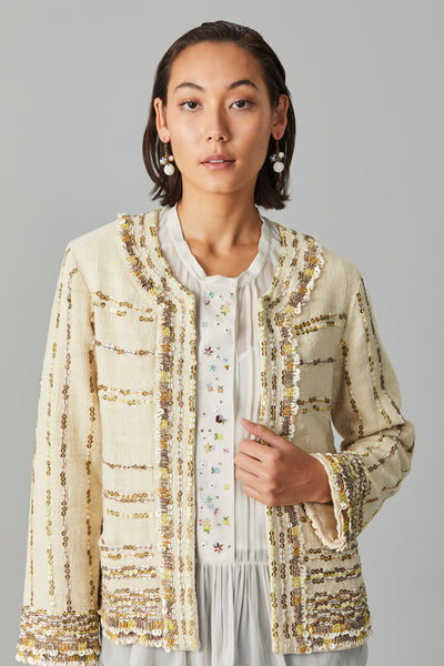 TRIBAL KHADI JACKET