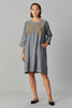 ZARIA DENIM DRESS