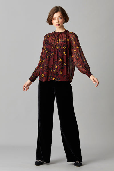MILA GEORGETTE BLOUSE