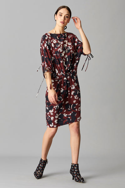 BRIONY SILK DRESS