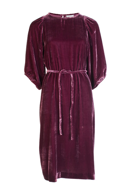 VELVET SASHA DRESS
