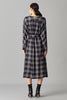 CHECKER DAY DRESS