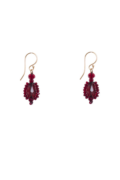 BEADWEAVE DROP EARRINGS