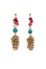 GILDEN TURQ EARRINGS