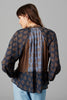 MELIKE SILK BLOUSE