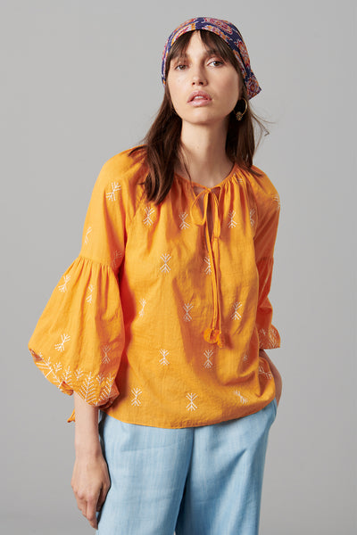 ELVIA COTTON BLOUSE