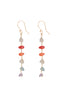 TALITHA 6 GEM EARRINGS