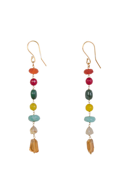 TALITHA 7 GEM EARRINGS