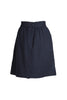WOOL GAUZE BELL SKIRT