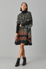 CHEVRON SILK KAFTAN