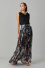 FALLOW MAXI GEORGETTE SKIRT