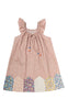PATCHWORK HOUSEY SUNDRESS-4YRS