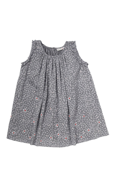 DAISY FLORAL SUNDRESS- 4 YRS
