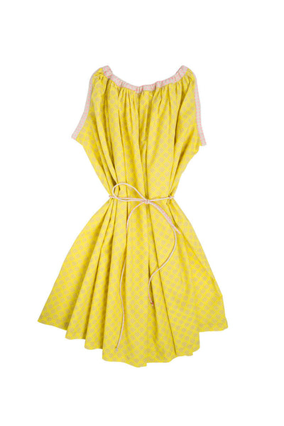 BELTED SWING SUNDRESS- 6 YRS