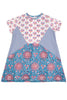 PATCH SHIFT DRESS